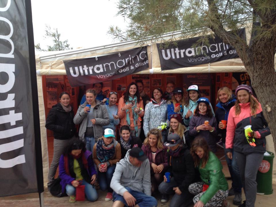 Les filles du Défi à l'apéro organisé par Ultramarina