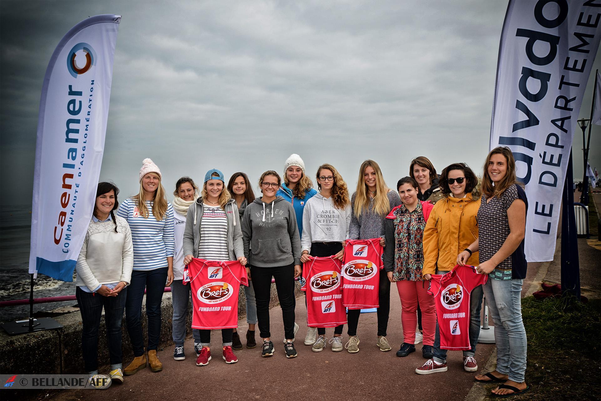 AFF Funboard Tour - les filles!