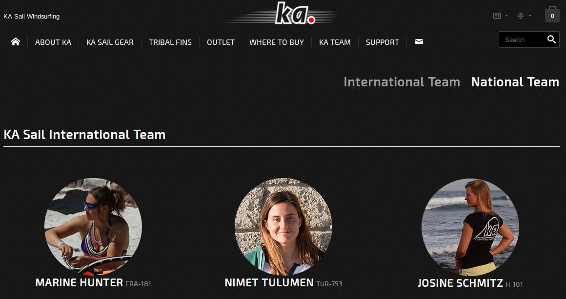 Ka Sail Girls Team