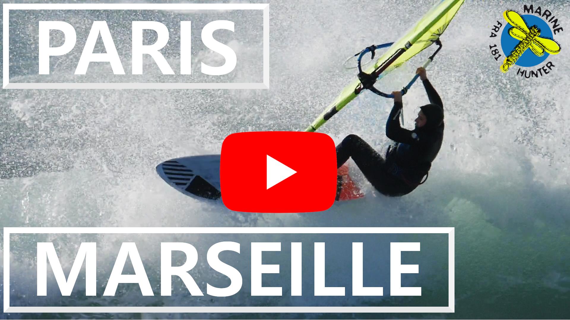 Sur Les Rails Paris Marseille Windsurfeuse In Paris